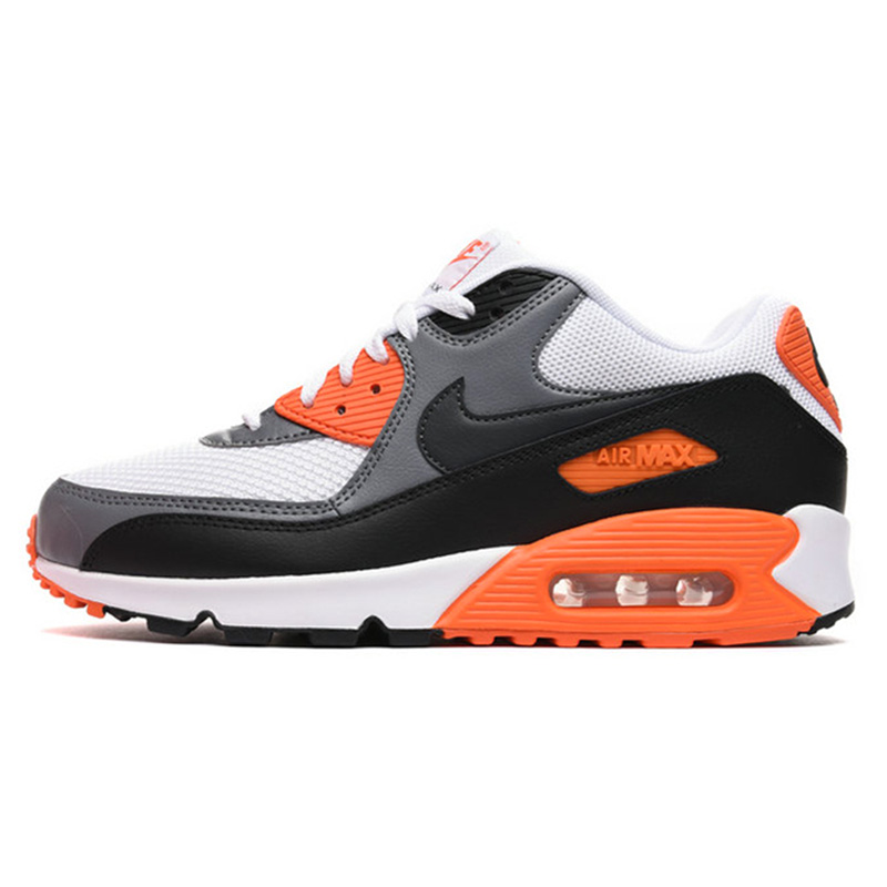 Original Authentic NIKE Men's AIR MAX 90 ESSENTIAL Breathable Running Shoes Sneakers Outdoor Sports Tennis Designer Athletic 11