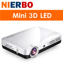 NIERBO 3D LED Projector Full HD 1080P Android Portable Mini Video Projectors Beamer DLP Wifi Home Theater Game Business HDMI MHL