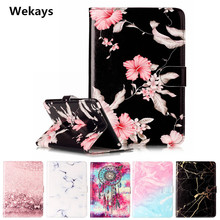Wekays Tablet Case For Apple Ipad Mini 4 Cover Flip Leather PU Stand Kickstand Case Cartoon Windbell Funfas for ipad mini 4 цена 2017
