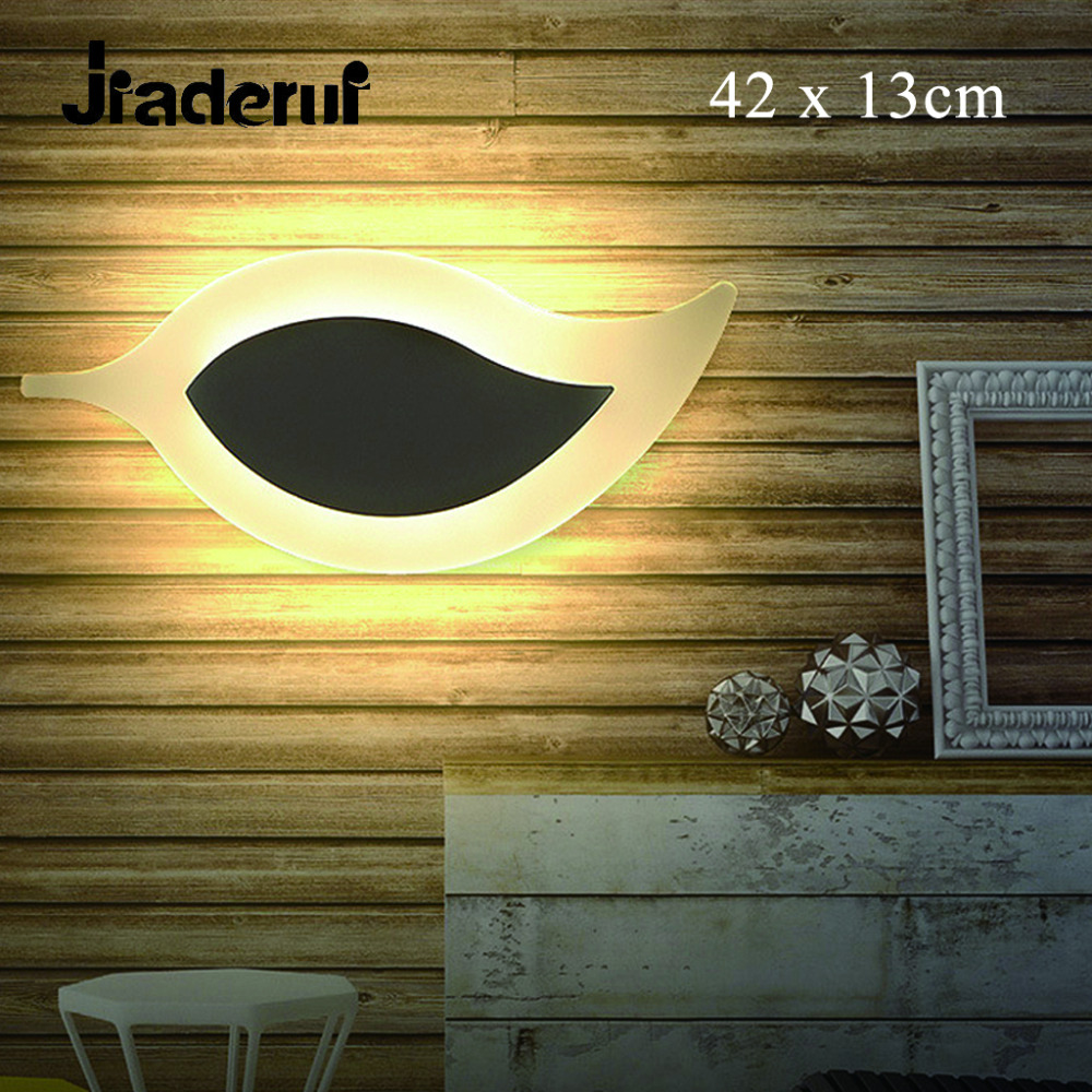 Jiaderui Leaves Night Light LED Modern Wall Practical Lighs ...