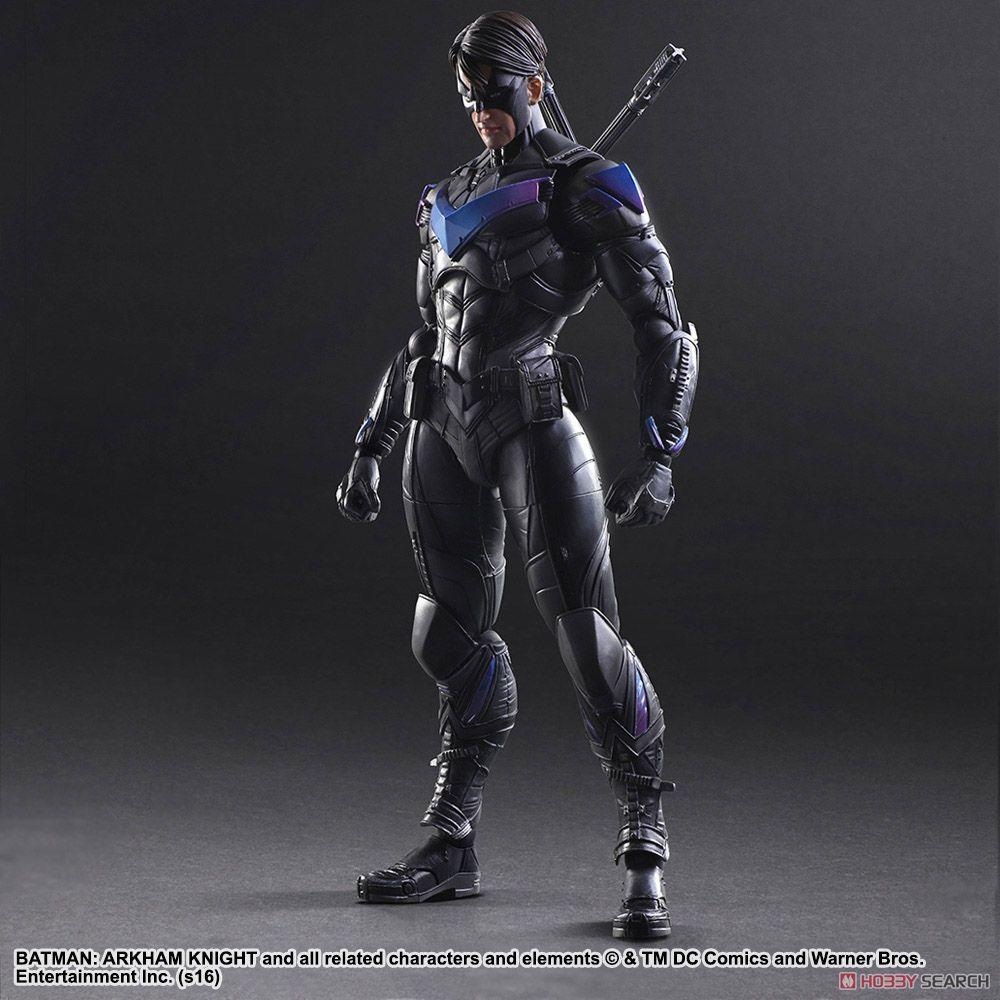 цена на BATMAN ARKHAM KNIGHT PLAY ARTS Kai Night Wing Action figure