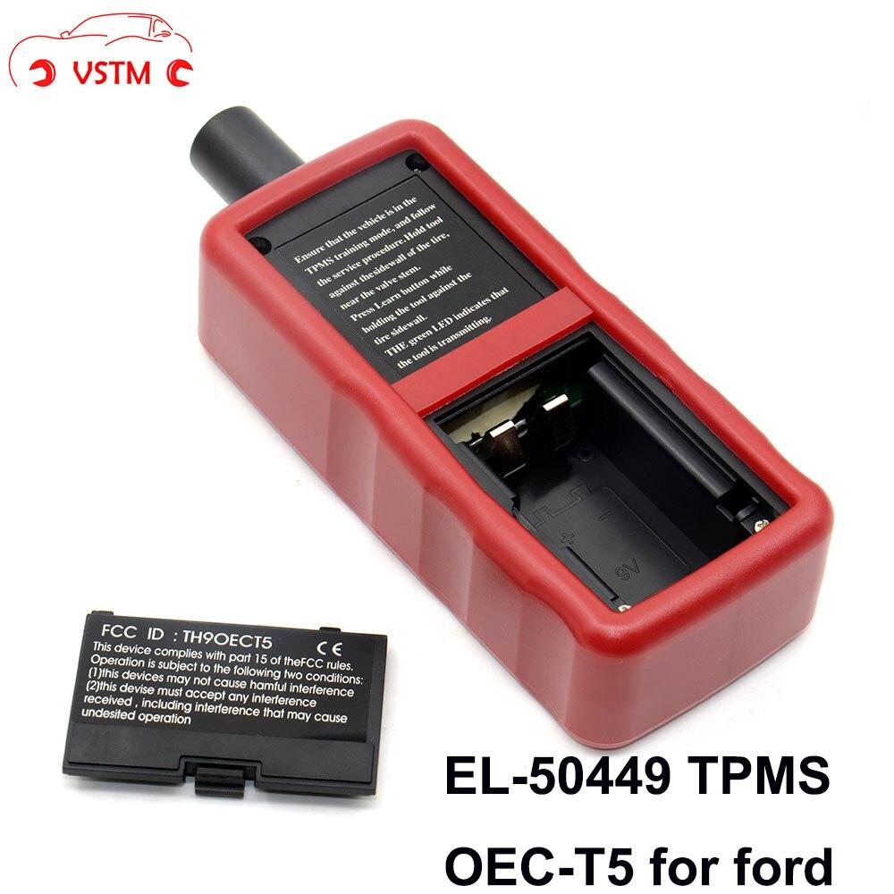 Automobiles & Motorcycles Diplomatic Vstm El 50449 Oec-t5auto Tire Pressure Monitor Sensor Tpms Activation Tool For Fo-rd Vehicle El-50449 Monitor Sensor Street Price