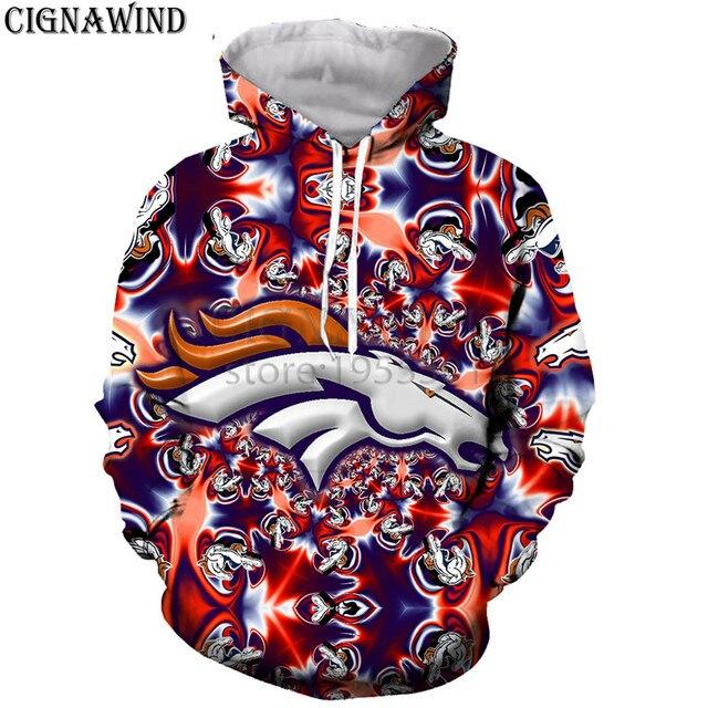 6ea3323d2bb New England PATRIOTS ATLANTA BRONCOS hoodies men women sweatshirts 3D print  fashion hip hop style streetwear casual tops