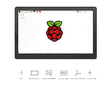 New 7 inch 1024x600 HDMI IPS LCD Display Screen Alloy Case For Raspberry Pi 4 Model B 3B+ 3B