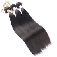 Brazilian Hair Bundles Straight Hair Weaves Human Remy Hair Weaving Double Weft Na Beauty Weaves Shipping Free