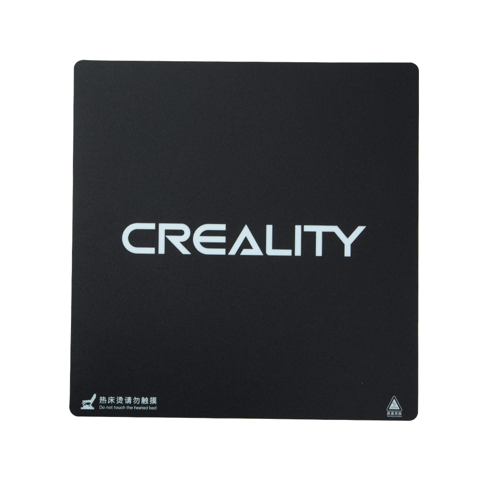 Creality 3D  320*310mm Frosted Heated Bed Hot Bed Platform Sticker With 3M Backing For CR-10S Pro / CR-X 3D PrinterCreality 3D  320*310mm Frosted Heated Bed Hot Bed Platform Sticker With 3M Backing For CR-10S Pro / CR-X 3D Printer