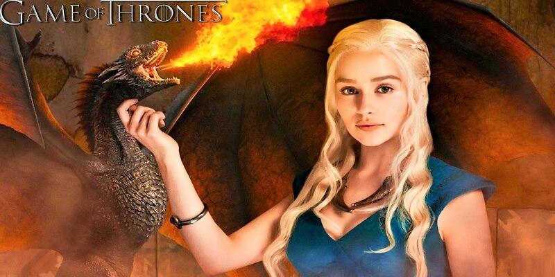 Serviettes Of Thrones Daenerys