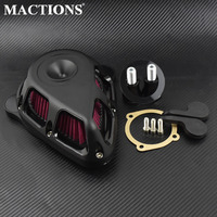 Motorcycle Turnable Air Cleaner Air Filter Matte Black Kits For Harley XL 48 883 1200 Sportster 1991 2014 2015 2016 2017