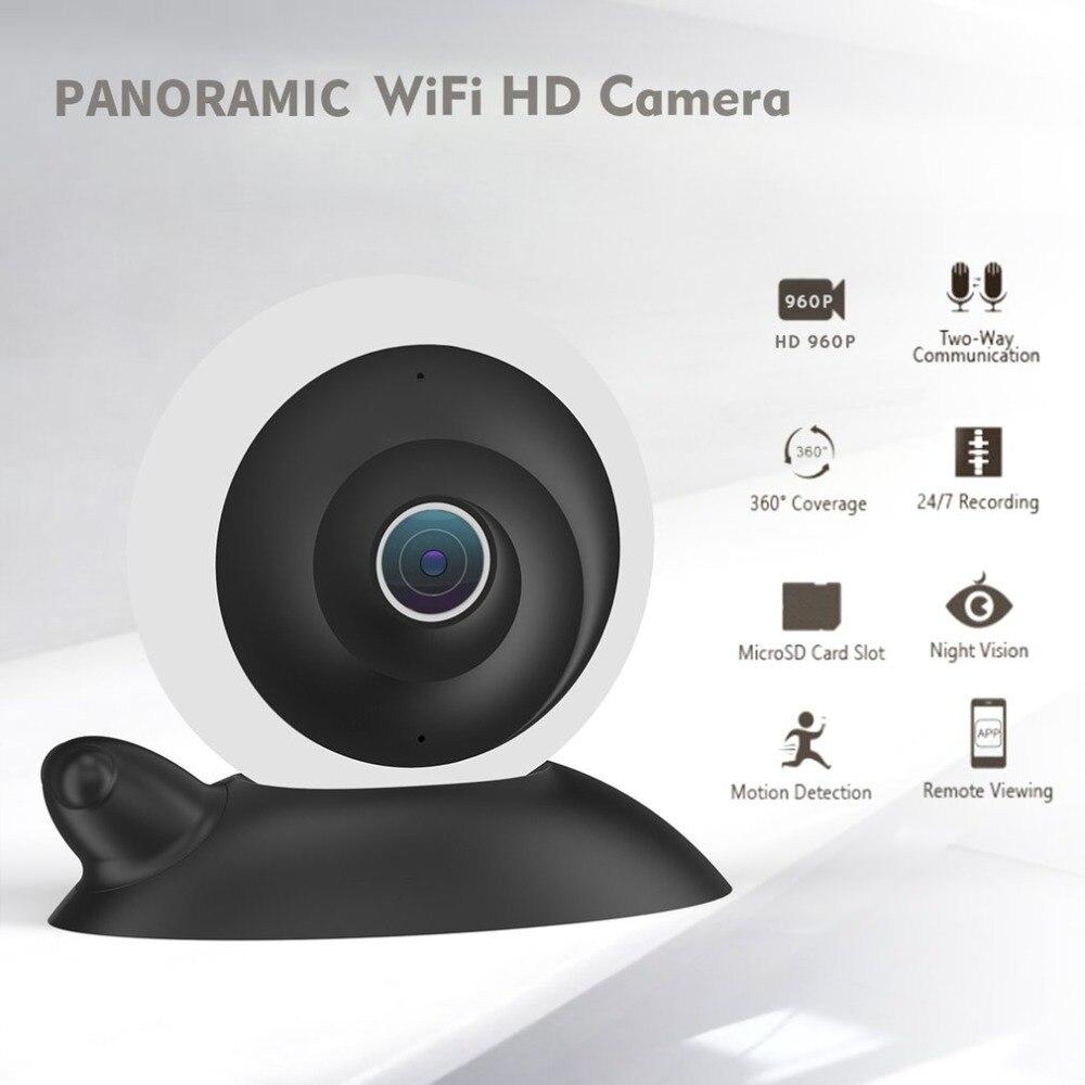 New WIFI IP Camera 360 Fisheye Panoramic Dome Camera 1.3MP 1080P CCTV Night Vision Video Surveillance Security