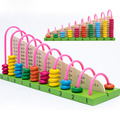 Montessori calculation rack toys exercise the child's hands-on ability to develop right-brain educational toys