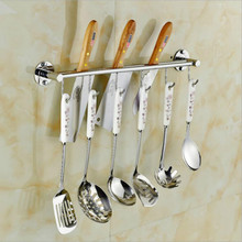 Stainless Steel Wall Mounted Knife Holder Bar Easy Storage Knife Rack Strip for Kitchen Cooking Tool Hook Kitchen Accessories