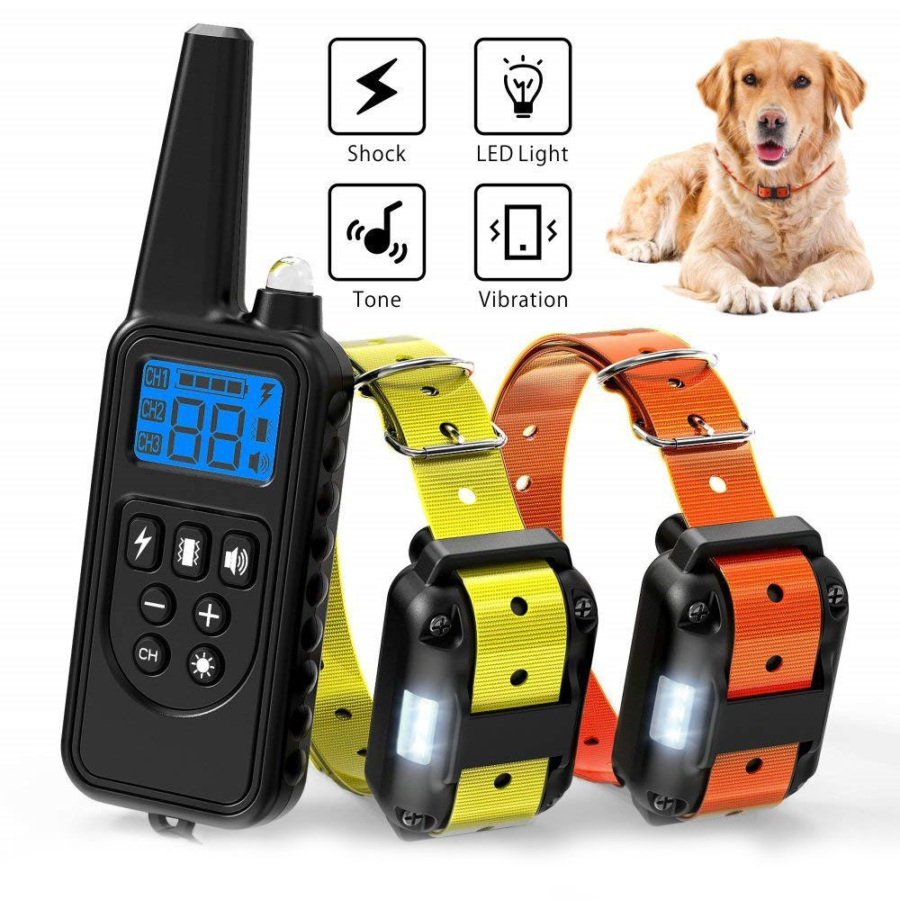 Esky Bark Collars Rechargable LCD Remote Control Dog