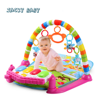 Baby Play Mats Musical Lighting Toddler Toys Red Blue Activity Play Toys Bebek Oyuncak Brinquedos Para