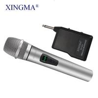 Microphone Wireless Condenser Karaoke Handheld LED Mic Wireless System UHF Speaker Portable For KTV DJSpeech Amplifier Recording