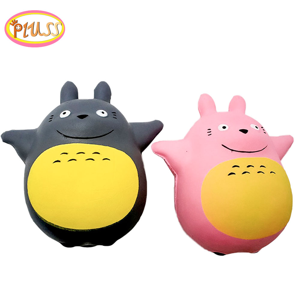 Squishy Kawaii Cartoon Chinchillas Totoro Cat Squishies Squeeze Toy Slow Rising Relieves Anxiety Stress Toys