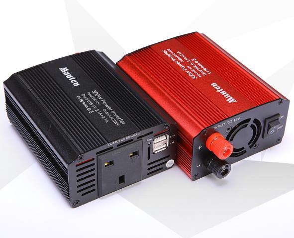 300 watt Inverter Britischen Vorschriften Auto Inverter 12 v-220 v Power Converter 2USB