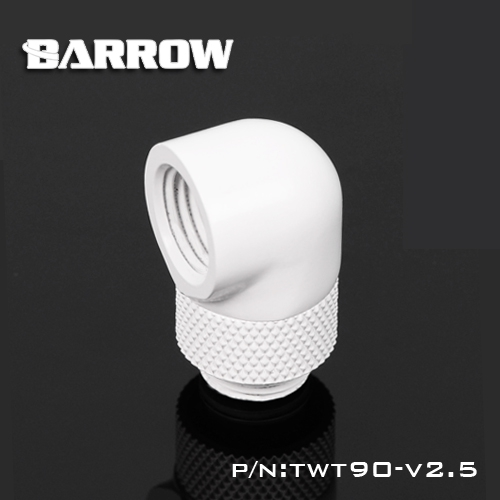 Barrow TWT90-v2.5, G1 / 4 '' Thread 90 Degree Rotary Fittings, - Computer componenten - Foto 4