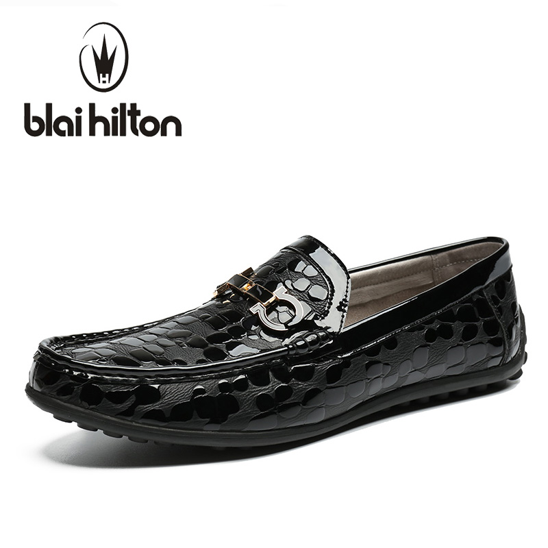 Blaibilton Metal Decoration 100% Luxury Genuine Leather Loafers Men Shoes Classic Plaid Mens Shoes Casual Boat Designer SD6066 fungicidal management of sheath blight of rice
