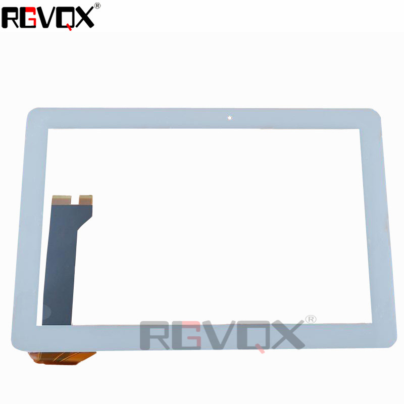 RLGVQDX For <font><b>ASUS</b></font> ME102 <font><b>K00F</b></font> 10.1 Touch Screen White High Quality Replacement Glass Version V2.0 3.0 4.0 With Tracking Number image