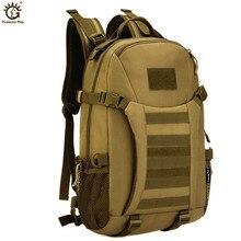 العسكرية التكتيكية على ظهره 35L الجيش الرحلات في الهواء الطلق الرياضة النايلون حقيبة للسفر التخييم التنزه الإرتحال حقائب Camouflage