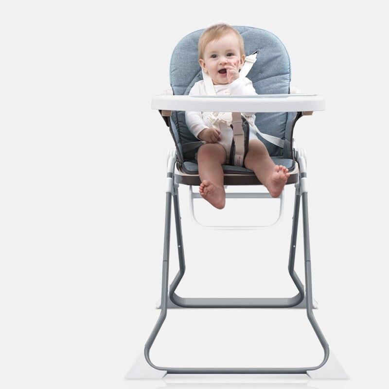 Bébé chaises hautes réglables rehausseurs enfants dinant la chaise enfants pliable Portable bébé chaises hautes bébé chaise alimentation