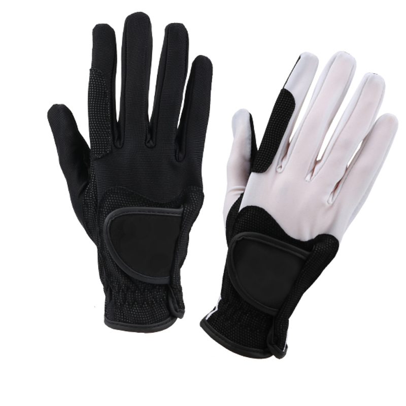 Horse Riding Gloves Wear-resistant Anti Skid Professional Equestrian Knight Gloves Horse For Men Women Children Hand Protect