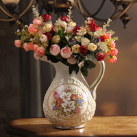 decoration Home Furnishing ceramic vase floral decoration luxury European style garden