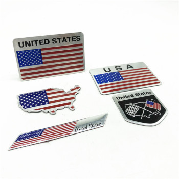 USA  Emblem Badge Decal