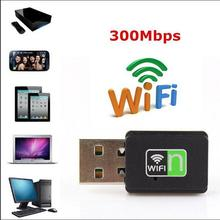 300 Mbps USB Wireless Wifi Adapter Dongle 802.11n/g/b Internet Network LAN Card O3