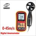 BENETECH измеритель скорости Анемометр ЖК-дисплей цифровой анемометр измеритель скорости ветра GM8901 0-45 м/с датчик анемометра