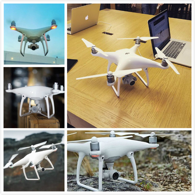 Newest camera drone DJI Phantom 4 RC Helicopter drone with 4K camera and 3-Axis Gimbal FPV quadcopter For Photographer Free DHL