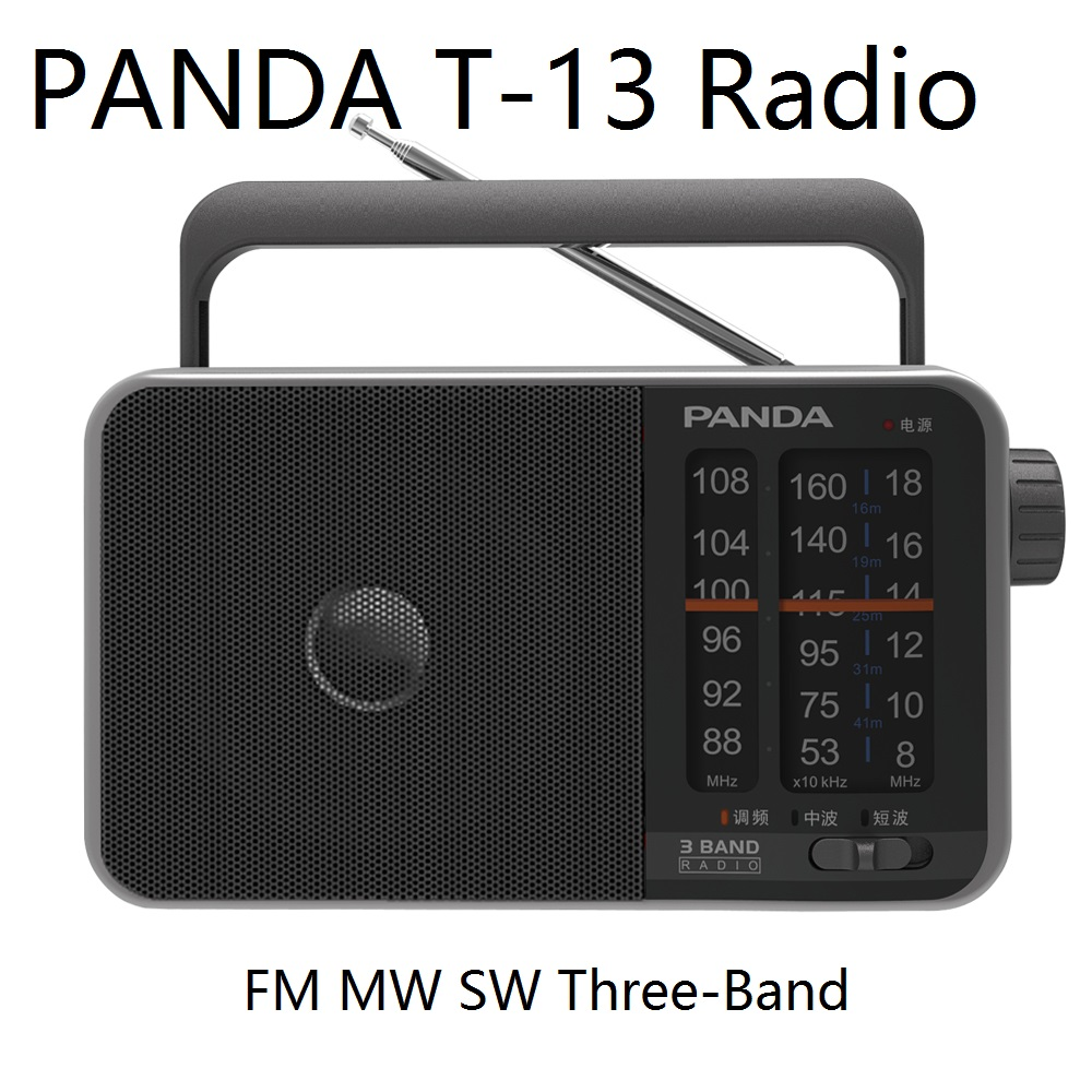 Tragbares Audio & Video Panda T-13 Radio Fm Medium Welle Kurzwelligen Drei-band Betrieb Einfache Sound Qualität Klar Tragbare Compact Zeiger Radio Zu Hohes Ansehen Zu Hause Und Im Ausland GenießEn