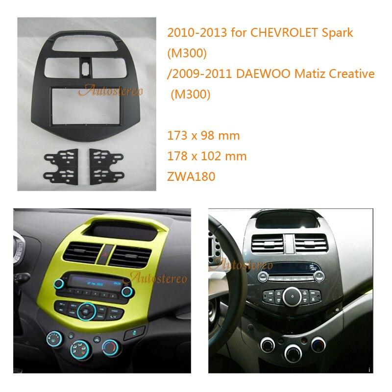 Car fascia for CHEVROLET Spark M300 2010 2013 DAEWOO Matiz Creative M300 2009