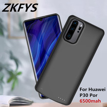 Power Case 6500mAh Portable Power Bank Battery Case For Huawei P30 Por Portable External Battery Pack Battery Charger Cases