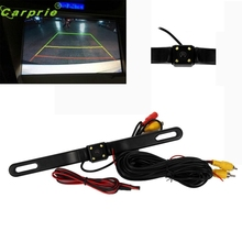 New Arrival 4 LED Night Vision Car Rear View Reverse Backup Parking Camera CMOS Waterproof nr28