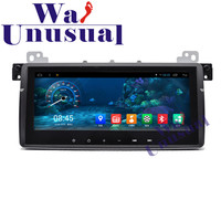 WANUSUAL 8.8 Inch Quad Core Android 6.0 GPS Navigation for BMW E46 Radio Player With BT 16GB Nand Flash 3G WIFI 1024*600 FreeMap