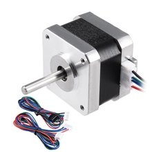 цена на UXCELL Nema 42 Stepper Motor Bipolar 28mm 0.22NM 1.4A 4.7V for CNC 3D Printer Router Hot Sale