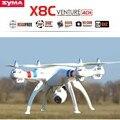 Original SYMA X8C 2.4 Ghz 6-Axis Gyro RC Quadcopter RTF Com Câmera 2.0MP HD RC Helicóptero
