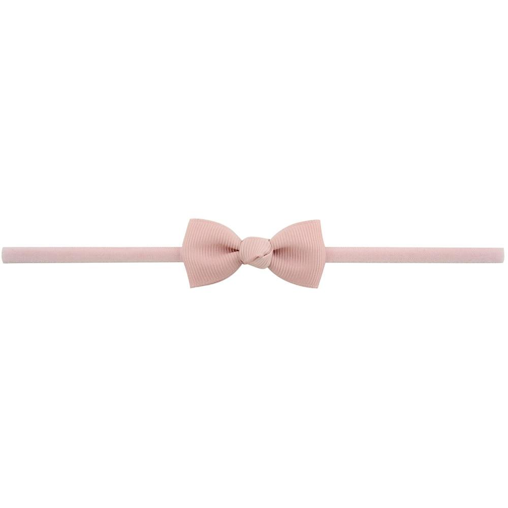 Повязка на голову для маленьких девочек; аксессуары для волос для младенцев; тканевый галстук с бантом; головной убор; Тиара; подарок для малышей; повязка на голову с лентой для новорожденных - Цвет: 16