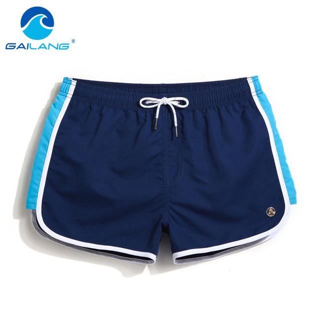 Gailang Marca Hombres Playa de Boardshorts Troncos Más El Tamaño de Impresión de Secado rápido Pantalones Cortos de Los Hombres Boxeadores Activos Pantalones Cortos Casuales