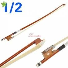 Hohe Qualität Professionelle Geige Exquisite Pferdehaar Carbon Arbor Rosshaar 1/2 Geigenbogen