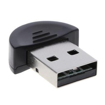 Gorąca sprzedaż najwyższej jakości Mini przenośny USB 2.0 Port wysokiej prędkości bezprzewodowy zestaw słuchawkowy Bluetooth 2.0 EDR Adapter do Win7/8 /XP Vista