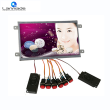 10.inch hd open body button management digital signage optical three.5 mm Earphone out liquid crystal display promoting show