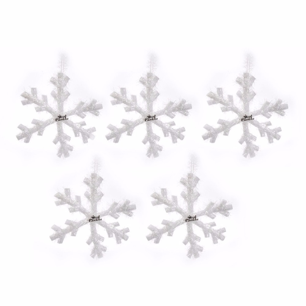 Snowflake Ornaments Wedding Favors. Perfect Aytai Set Christmas Tree ...