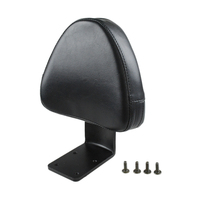 Motorcycle Backrest For Victory High Ball Vegas Kingpin 8 Ball Jackpot Rear Backrest Black Sissy Bar