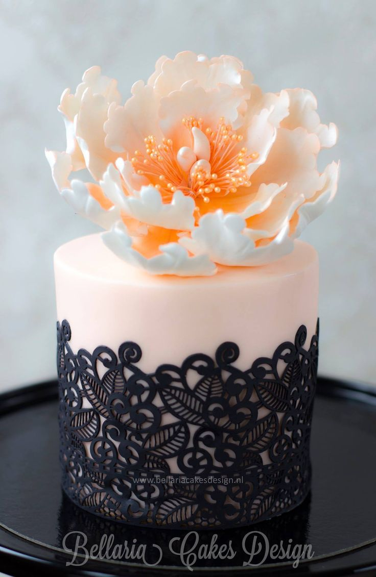 Cake With Fondant Lace : Aliexpress.com : Buy Fondant Silicone Lace Mold Wedding ...