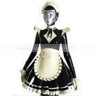 Sexy Maid Latex Dres...