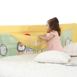 2018 новая распродажа Детские спальники Подушка Детская кроватка картонный Цвет 3 Размер рельса детской кроватки высококачественный