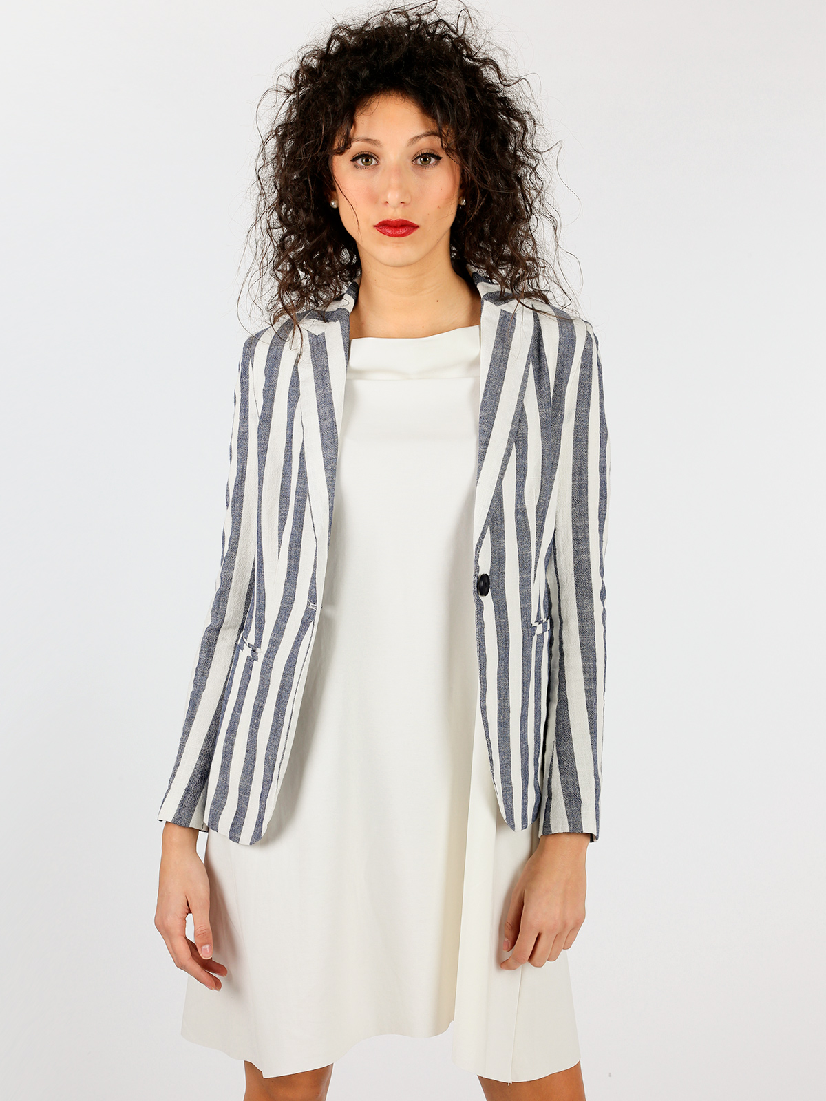 Striped Jacket Women