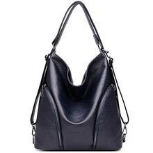 2019  New Vintage Women's Handbag Bag for Wild PU Casual Female Handbags Fashion Shoulder Crossbody Messenger Women Student Bags
